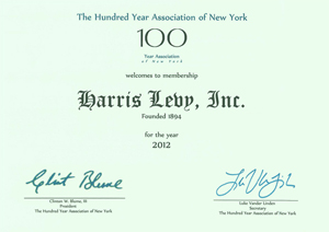 HL 100 Year Association of NY 2012
